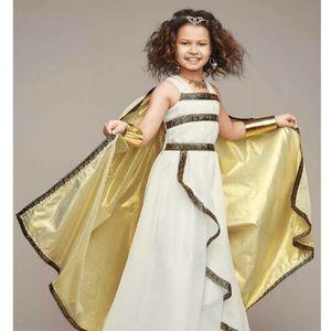 Chasing Fireflies Greek goddess costume size 6